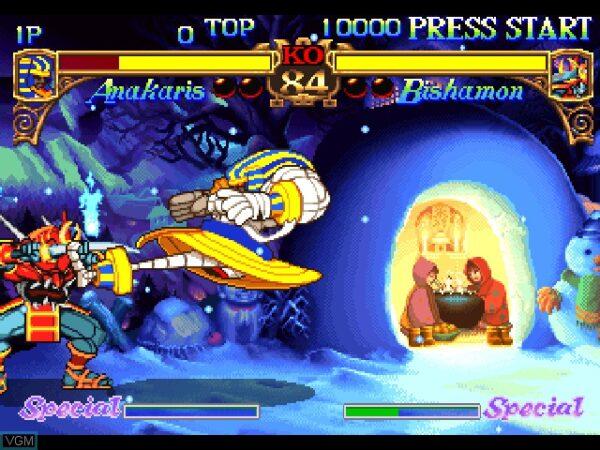 بازی Darkstalkers The Night Warriors برای PS1