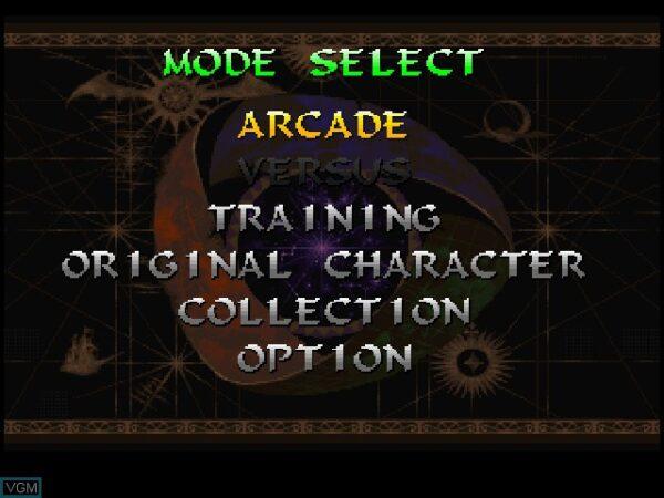 بازی Darkstalkers 3 برای PS1