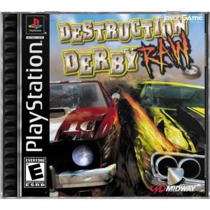 بازی Destruction Derby RAW برای PS1