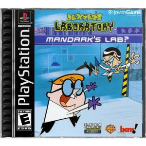 بازی Dexters Laboratory Mandarks Lab برای PS1 v